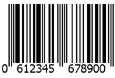 Código de barras EAN x 1